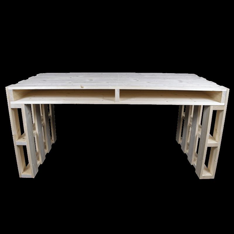 Pallet scrivania Frontale