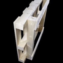 Palete de madeira com contraficha - traseira em pé 3