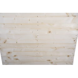 Two Way Light wooden pallet - Planed front with no gap between standing boards 2