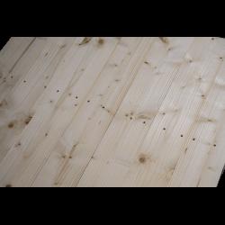 Pallet in legno a 2 vie leggero - Frontale piallato senza spazio tra tavole dettaglio 2