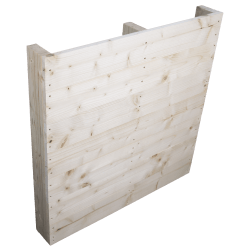 Two Way Light wooden pallet - Front planed with no space between boards standing side 2