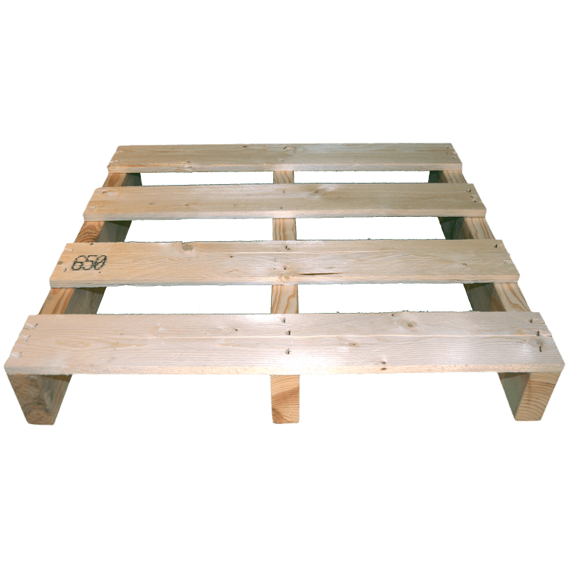 Two Way Light wooden pallet - Front not planed