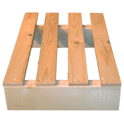 Two Way Light wooden pallet - Pallet for use with transpallet 4