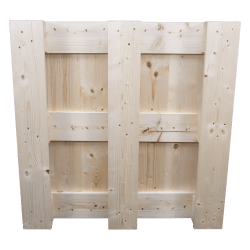 Four Way Block wooden pallet - Underside of the pallet