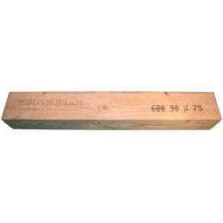 Wooden Beam 75x90mm - High forehead