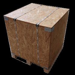 Caja de madera osb vtt