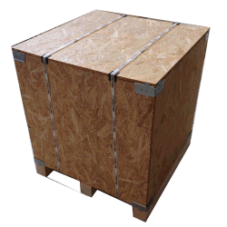 Wooden box osb vtt