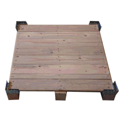 Palettenboden Detail - VTT-Sperrholz-Kiste