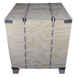 Front - Vtt wooden plywood box