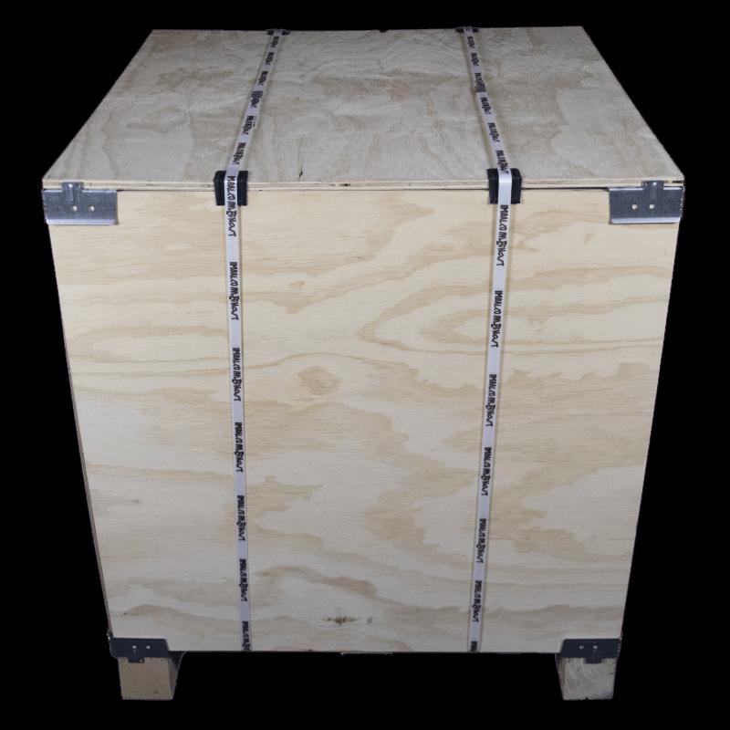 Vorderseite - VTT-Sperrholz-Kiste