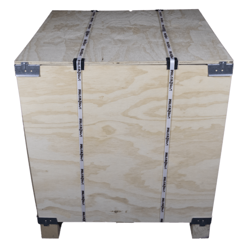Front - Vtt wooden plywood box