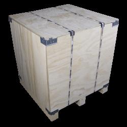 Lado izquierdo - Caja de madera contrachapada vtt