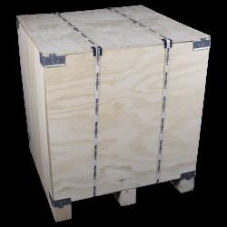 Lateral - Caixa de madeira compensada vtt