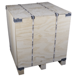 Lateral - Vtt wooden plywood box