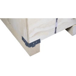 Bottom left corner detail - Vtt wooden plywood box