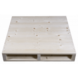 Planed front - Two Way wooden pallet