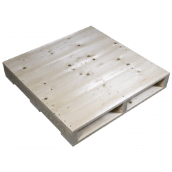 Planed side - Two Way wooden pallet