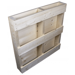 Planed side back - Two Way wooden pallet