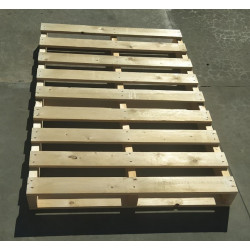 Palet de madera a 2 vías 120x80 Outlet