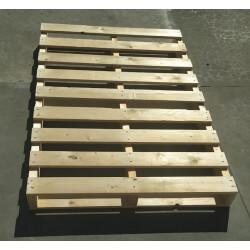 Palete de madeira de duas entradas 120x80 Outlet