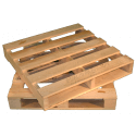 Four Way Block wooden pallet - Two way vs four way