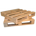 Four Way Block wooden pallet - Two way vs four way down