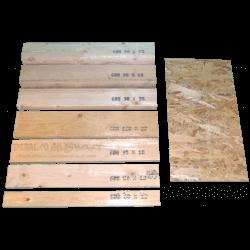 Pannello OSB3 spessore 6mm - Tavole e pannelli