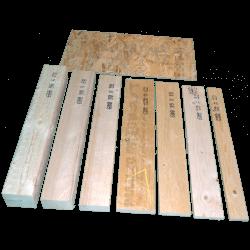 Pannello OSB3 spessore 6mm - Tavole e pannelli 4