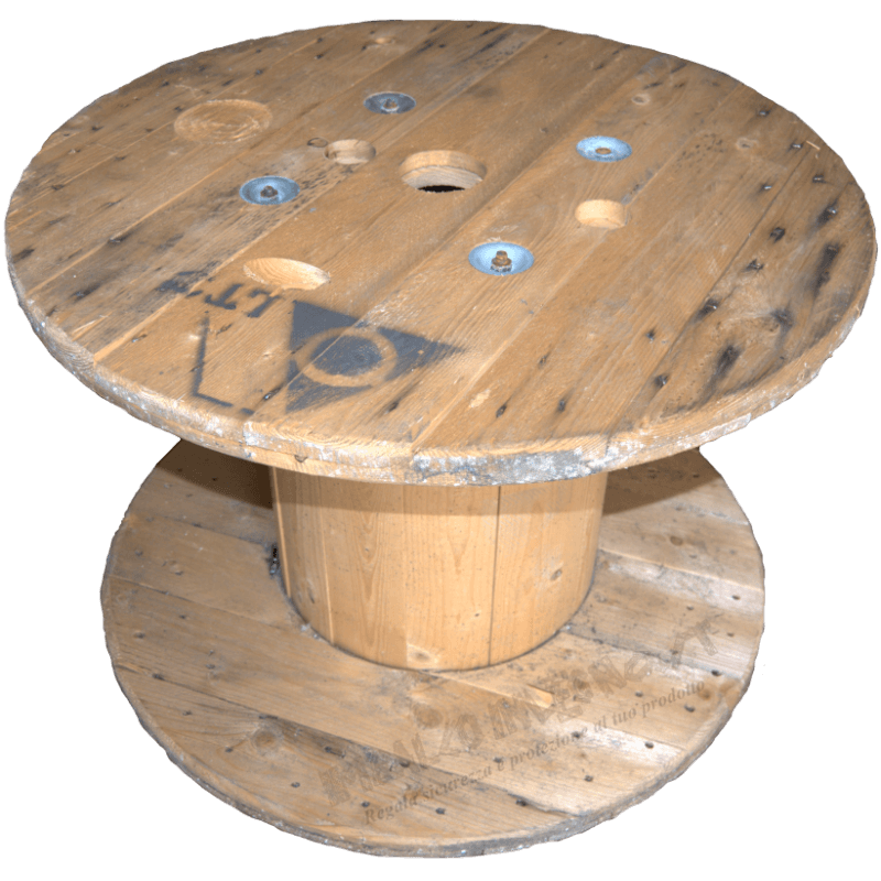 Wooden Reel (diameter 80cm) - Front