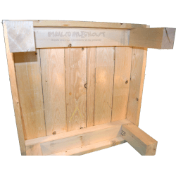 Pallet Tavolo - Sotto laterale