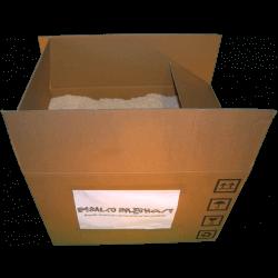 Segatura - Frontale scatola