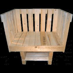 Pallet divano - Frontale