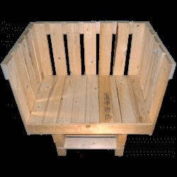 Pallet divano - Frontale alto
