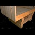 Pallet divano - Laterale sinistro basso
