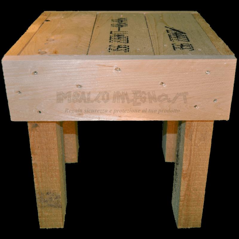Pallet sedia - Frontale
