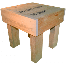 Pallet sedia - Laterale destro basso