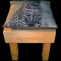 Pallet sedia - Frontale alto con cuscino