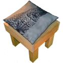 Pallet sedia - Laterale destro con cuscino