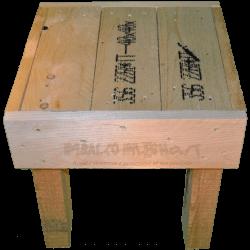 Pallet sedia - Frontale alto