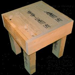 Pallet sedia - Laterale sinistro alto