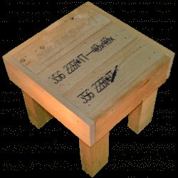 Pallet sedia - Laterale destro alto