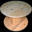 Bobine in legno per cavi (diametro 100cm) NUOVA - Frontale