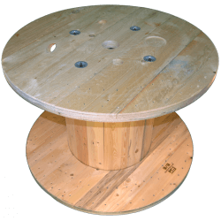 Wooden Reel (diameter 100cm)
