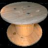 Bobine in legno per cavi (diametro 80cm) Nuova - Frontale Alto