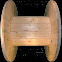 Bobine in legno per cavi (diametro 80cm) Nuova - Lato corto