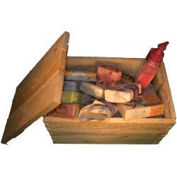 Cassa per regali - Frontale con composizione