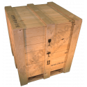 Cassa in legno - Frontale