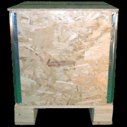 Caja de madera osb plegable