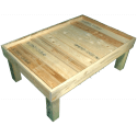 Pallet Kitchen Garden - Left side without pallet collar
