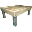 Pallet Kitchen Garden - Left side without pallet collar two